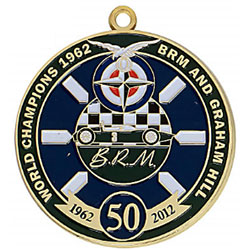 50mm Custom medals with enamel